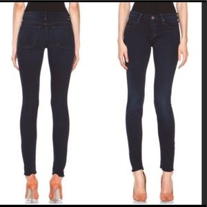 MOTHER The Looker Skinny Jeans in Midnight 26